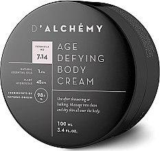 Düfte, Parfümerie und Kosmetik Anti-Aging Körpercreme - D'Alchemy Age Defying Body Cream
