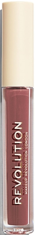 Flüssiger Lippenstift - Makeup Revolution Nudes Collection Gloss — Bild N1