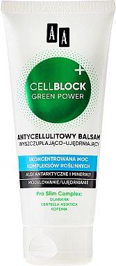 Anti-Cellulite Körperlotion - AA Cosmetics Cell Block Green Power Anti-Cellulite Lotion — Bild N2