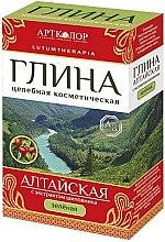 Düfte, Parfümerie und Kosmetik Kosmetische grüne Altai Tonerde für das Gesicht mit Hagebuttenextrakt - Artkolor
