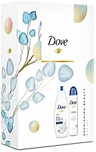 Düfte, Parfümerie und Kosmetik Körperpflegeset - Dove (Duschgel 250ml + Deospray 150ml)