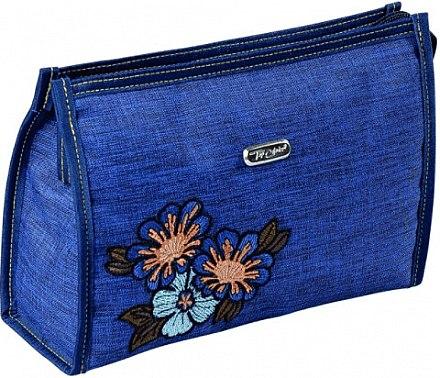 Weiche Kosmetiktasche blau 96006 - Top Choice — Bild N1