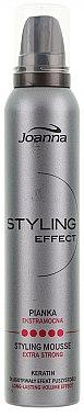 Schaumfestiger mit extra starkem Halt - Joanna Styling Effect Styling Mousse Extra Strong — Bild N1