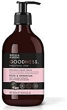 Düfte, Parfümerie und Kosmetik Natürliche Handseife Rose & Geranium - Baylis & Harding Goodness Rose & Geranium Natural Hand Wash