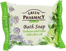 """Düfte, Parfümerie und Kosmetik Seife """" Verbena und Limette mit Olivenöl"""" - Green Pharmacy"""