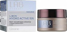 Düfte, Parfümerie und Kosmetik Nährende Nachtcreme für Gesicht mit laktobionischer Säure - Lirene Lab Therapy Moisture L-Bion Hydro Active 15% Cream