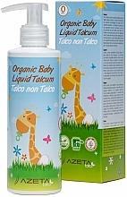 Düfte, Parfümerie und Kosmetik Bio Kindercreme für den Körper mit flüssigem Talkpuder - Azeta Bio Organic Baby Liquid Talcum