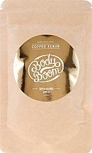 Düfte, Parfümerie und Kosmetik Körperscrub mit Koffein - BodyBoom Coffe Scrub Shimmer Gold