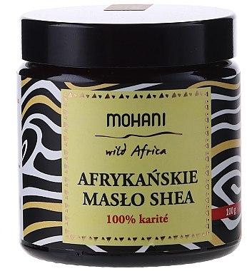 Afrikanische Bio Sheabutter für Körper und Gesicht - Mohani African Unrefined Shea Butter — Bild N1