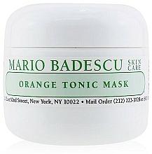 Düfte, Parfümerie und Kosmetik Sanfte erfrischende Gesichtsreinigungsmaske mit Orangenschalenextrakt - Mario Badescu Orange Tonic Mask