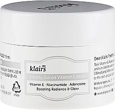 Gesichtspflegeset - Klairs Vitamin Duo (Vitaminkomplex Gesichtsserum 35ml + Gesichtsmaske 15ml) — Bild N3