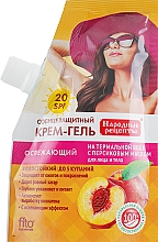 Düfte, Parfümerie und Kosmetik Sonnenschutz Creme-Gel für Gesicht und Körper mit Pfirsichöl - Fito Kosmetik