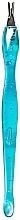 Düfte, Parfümerie und Kosmetik Nagelhautschneider RN 00416 blau - Ronney Professional Cuticle Pusher