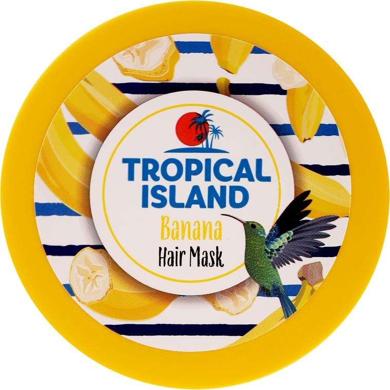 Pflegende Haarmaske mit Banane - Marion Tropical Island Banana Hair Mask