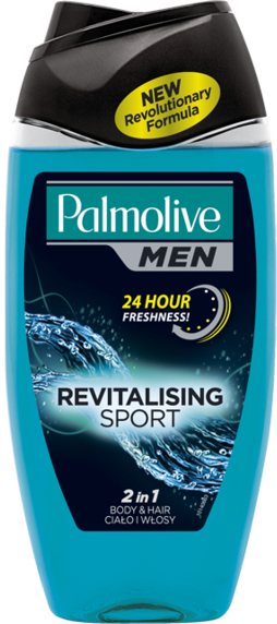 Revitalisierendes Haar&Körper Duschgel - Palmolive Naturals — Bild N1