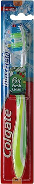 Zahnbürste weich Max Fresh hellgrün-weiß - Colgate Max Fresh — Bild N1