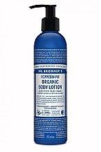 Düfte, Parfümerie und Kosmetik Hand- und Körperlotion mit Pfefferminze - Dr. Bronner's Peppermint Organic Hand & Body Lotion