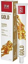 Düfte, Parfümerie und Kosmetik Luxuriöse aufhellende Zahnpasta mit Goldpartikeln und Diamantpulver - Splat Gold