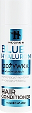 Düfte, Parfümerie und Kosmetik Haarspülung mit Hyaluronsäure, D-Panthenol und Sheabutter für trockenes Haar - Hegron Blue Hyaluron Hair Conditioner