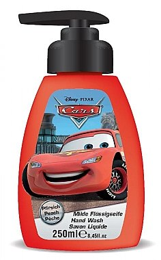 Milde Flüssigseife mit Pfirsichduft für Kinder Cars McQueen - Disney Cars McQueen Hand Wash Soap — Bild N1