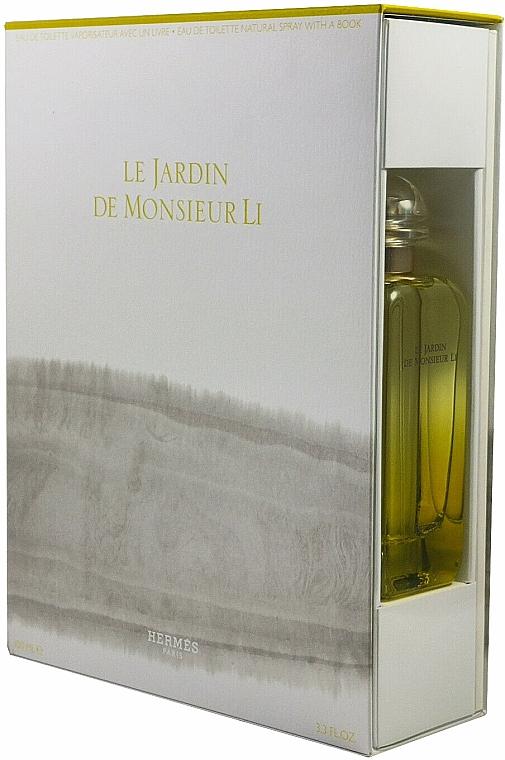 Hermes Le Jardin de Monsieur Li - Duftset (Eau de Toilette 100ml + Buch) — Bild N2