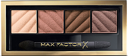 Düfte, Parfümerie und Kosmetik Matte Lidschatten Quartett - Max Factor Smokey Eye Drama Eyeshadow Kit Matte