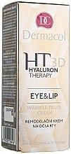 Düfte, Parfümerie und Kosmetik Augen- und Lippencreme mit Hyaluronsäure - Dermacol Hyaluron Therapy 3D Eye and Lip Wrinkle Filler Cream
