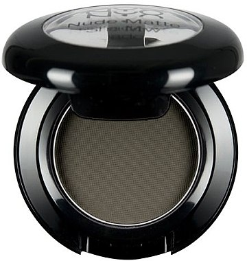 Matter Lidschatten - NYX Professional Makeup Nude Matte Shadow — Bild N1