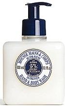 Düfte, Parfümerie und Kosmetik Pflegende Hand- und Körpermousse - L'occitane Shea Butter Ultra Rich Hand & Body Wash
