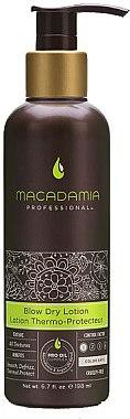 Glättende Haarlotion mit UV-Strahlen Schutz - Macadamia Natural Oil Professional Blow Dry Lotion — Bild N1