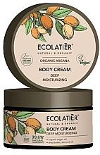 Düfte, Parfümerie und Kosmetik Intensiv feuchtigkeitsspendende Körpercreme mit Arganöl - Ecolatier Organic Argana Body Cream