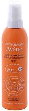 Wasserfestes Sonnenschutzspray für empfindliche Haut SPF 20 - Avene Solaires Moderate Protection Spray SPF 20 — Bild N1