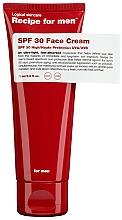 Düfte, Parfümerie und Kosmetik Feuchtigkeitsscreme für das Gesicht mit Sonnenschutz SPF 30 - Recipe For Men Facial Moisturizer SPF 30