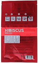 Tuchmaske mit Hibiskusextrakt - Holika Holika Brewing Tea Bag Mask Hibiscus — Bild N2