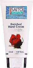 Düfte, Parfümerie und Kosmetik Handcreme mit Rose - Saito Spa Hand Cream Rose