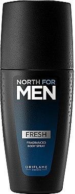 Parfümiertes Körperspray Fresh - Oriflame North for Men Fresh Fragranced Body Spray — Bild N1