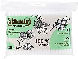 Düfte, Parfümerie und Kosmetik Wattestäbchen 160 St. - Cashmir Natural Cotton Buds