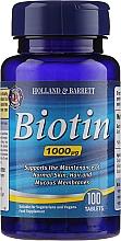 Düfte, Parfümerie und Kosmetik Nahrungsergänzungsmittel Biotin für gesunde Haare und Nägel - Holland & Barrett Biotin