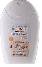 Düfte, Parfümerie und Kosmetik Dusch- und Badecreme mit Algenextrakt - Byphasse Caresse Shower Cream Orange Blossom