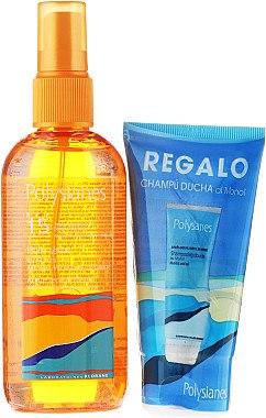 Körperpflegeset - Klorane Polysianes (Haar-+ Körperöl 150ml + Duschgel 75ml) — Bild N1