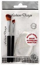 Düfte, Parfümerie und Kosmetik Make-up Pinselset - Top Choice (2 Pinsel + 1 Make-up Schwamm)