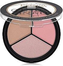 Highlighter Gesichtspalette - Eveline Cosmetics Contour Sensation — Bild N2