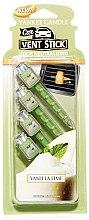 Düfte, Parfümerie und Kosmetik Auto-Lufterfrischer Vanilla Lime Duftstick - Yankee Candle Vanilla Lime Car Vent Sticks