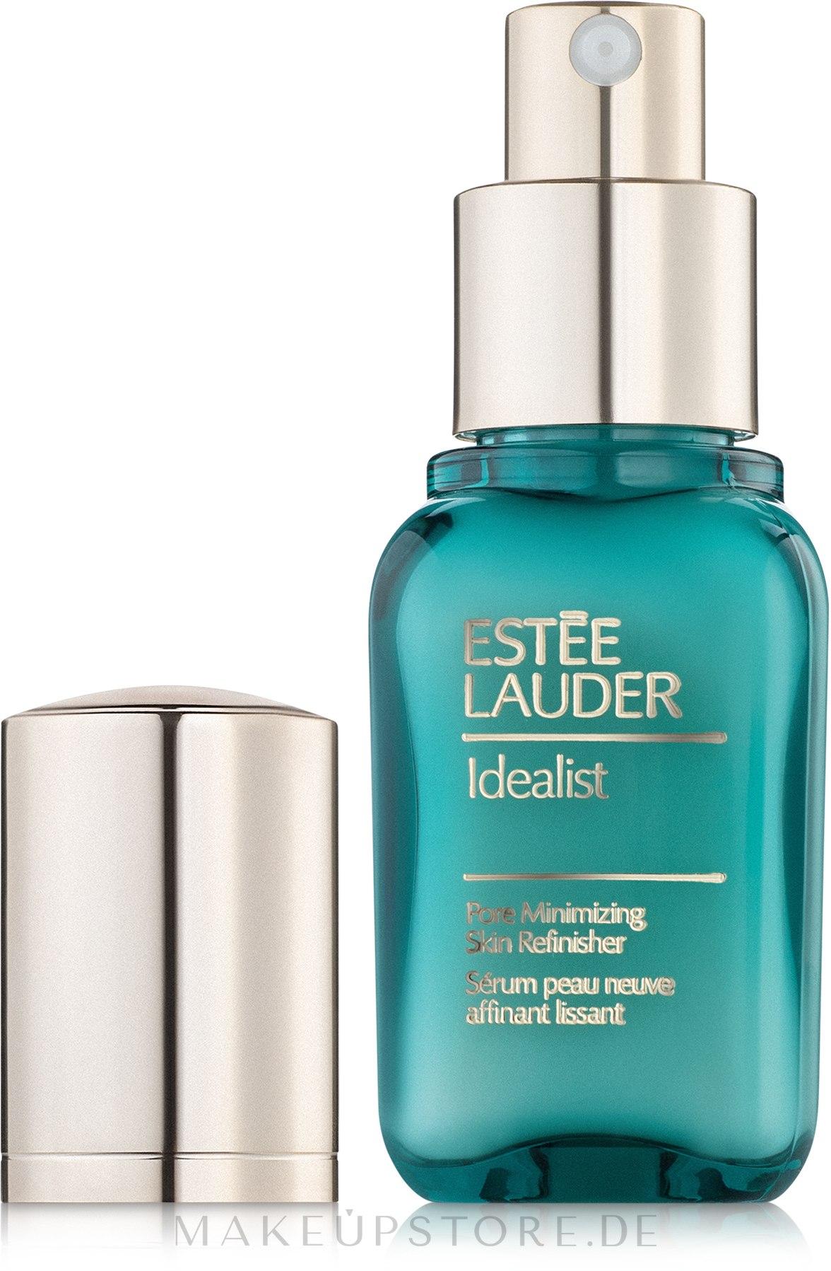 Glättendes Gesichtsserum zur Verengung der Poren - Estee Lauder Idealist Pore Minimizing Skin Refinisher — Bild 30 ml