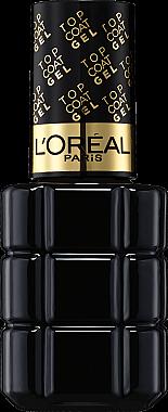 Langanhaltender Nagelüberlack mit Glanz-Gel-Effekt - L'Oreal Paris Top Coat Gel Ultime — Bild N1
