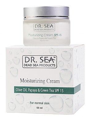 Feuchtigkeitsspendende Gesichtscreme SPF 15 - Dr. Sea Moisturizing Cream SPF 15 — Bild N1