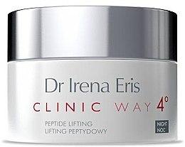 Düfte, Parfümerie und Kosmetik Nachtcreme mit Peptiden und Lifting-Effekt - Dr Irena Eris Clinic Way 4 Peptide Lifting