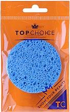 Düfte, Parfümerie und Kosmetik Abschminkschwamm aus Cellulose 6470 blau - Top Choice