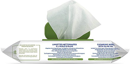 Pflegetücher mit Olivenöl 50 St. - Mustela Cleansing Wipes With Olive Oil — Bild N2