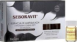 Kopfhaut Komplex mit Extrakten aus schwarzem Rettich - Farmona Seboravit  — Bild N1